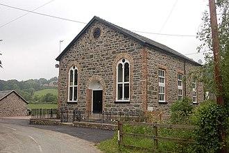 Pontrobert - Image: Converted chapel geograph.org.uk 1339070
