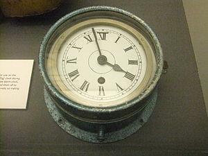Convoy clock, Merseyside Maritime Museum.jpg