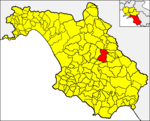 Locatio Corleti in provincia Salernitana