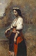 Corot - Italienne à la fontaine, 1865-1870.jpg