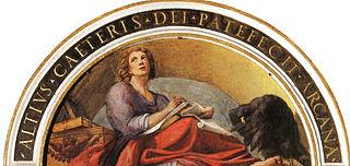 Saint Jean et l'aigle