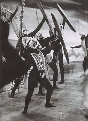 Corroboree - A ballet performance based on the corroboree