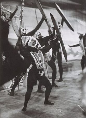 Corroboree - Corroboree, a ballet performance based on the corroboree
