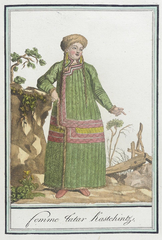 Costumes de Differents Pays, 'Femme Tatar Kastchintz' LACMA M.83.190.226