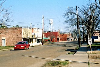 Cotton Plant, Arkansas - Main Street, Cotton Plant, February 2007