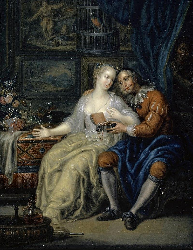 Пара со свахой Иоганна Георга Platzer.jpg