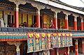 Courtyard of the Kelsang Temple, Tashilhunpo Monastery, Shigatse, Tibet (3).jpg