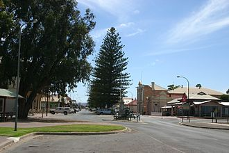 County of Jervois - The main street of Cowell in 2006