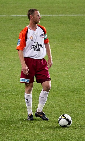 Craig Moore - Moore in 2008 playing for Queensland Roar