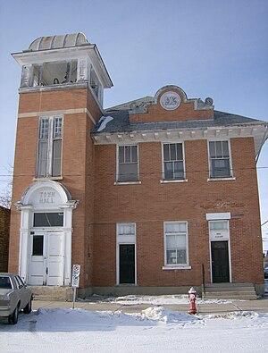 Craik, Saskatchewan - Town hall, Craik