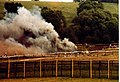 Crash test of nuclear waste flask Old Dalby 17 July 1984 (3) - geograph.org.uk - 543083.jpg