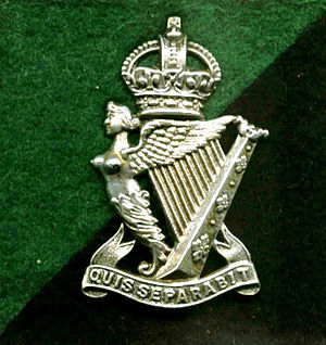 Royal Ulster Rifles - Image: Crest of the Royal Ulster Rifles