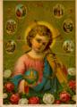 Cromolitogravura de Jesus Cristo como criança, aproximadamente de 1919.png