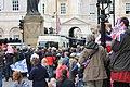 Crowds outside Horseguards, London.JPG