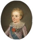 Crownprince, Le Dauphin, Louis-Joseph-Xavier-François of France (1781-1789) - Nationalmuseum - 132462.tif