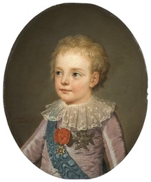 Crownprince, Le Dauphin, Louis-Joseph-Xavier-François of France (1781-1789) - Nationalmuseum - 132462.tif