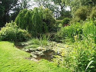 Cruickshank Botanic Garden - Image: Cruickshank pond