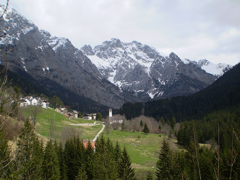 Culino, part of the Forni Avoltri municipality, in Friuli, Italy