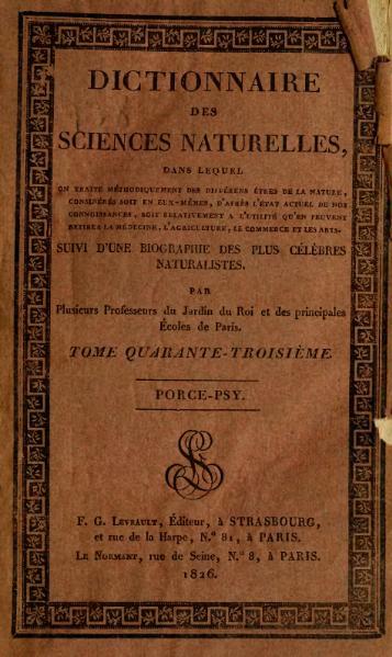 File:Cuvier - Dictionnaire des sciences naturelles, tome 43.djvu