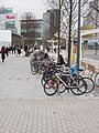 Cycle parking at Westfield - geograph.org.uk - 1041053.jpg