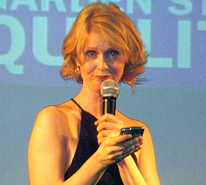 Actor Cynthia Nixon at the Garden State Equali...