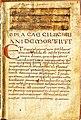 Cyprianus, De mortalitate. De patientia. De virginibus (ca.850).jpg