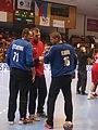 Czech national handball team 2016, goalkeepers.JPG