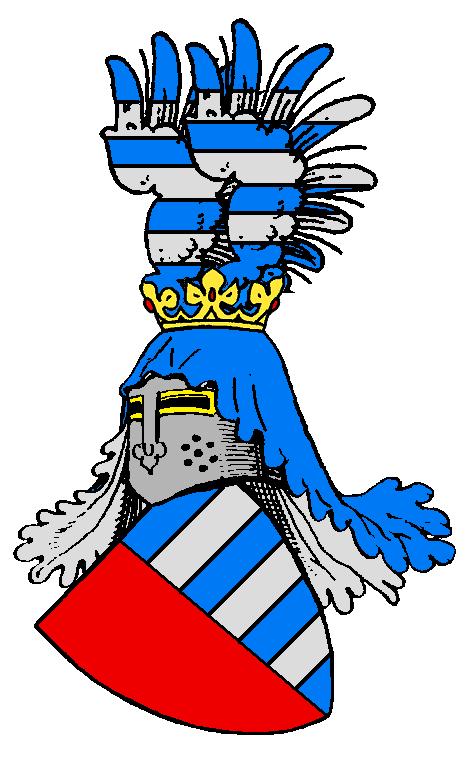 Starý rodový erb Černínů zChudenic