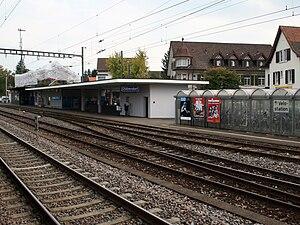 Dübendorf railway station - Image: Dübendorf IMG 0973