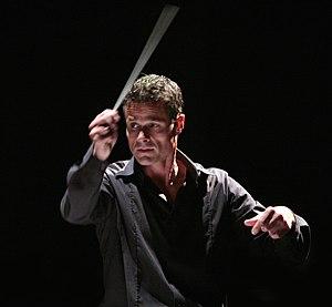 David Charles Abell - David Charles Abell conducting at Glimmerglass Opera, 2008