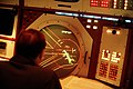 DF-ST-88-04935 An AIRMAN monitors a radar screen inside the Berlin Air Route Traffic Control Facility at Templehof Central Airport 1986.jpeg