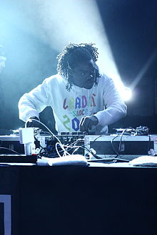 DJ performing with Danny Brown 2014.jpg