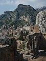DSC00806 - Taormina - Panorama dal Teatro Greco - Foto di G. DallOrto.jpg