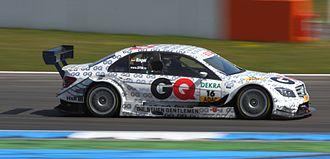 Maro Engel - Engel captured in his Mercedes-AMG DTM C-Class