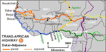 Dakar-Ndjamena Highway Map.PNG