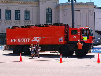2010 Dakar Rally - Support Truck at Buenos Aires