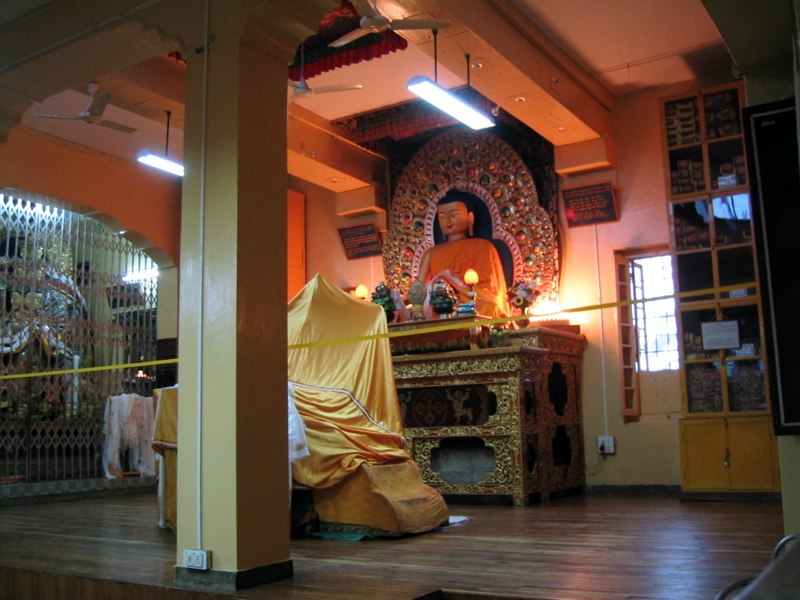 Dalai lama teaching room