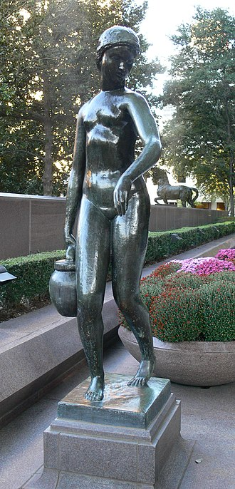 Joseph Bernard - Image: Dallas Crow Center 13 Bernard Young Girl Carrying Water