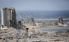 Damages after 2020 Beirut explosions