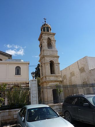 Mariamite Cathedral of Damascus - Cathedral Belfry