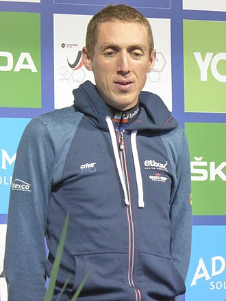 Dan Martin (cyclist) - Martin at the 2016 Tour of Britain
