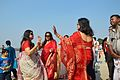 Dancing Devotees - Durga Idol Immersion Ceremony - Baja Kadamtala Ghat - Kolkata 2012-10-24 1355.JPG