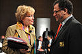 Daniel Jordaan and Helen Zille, 2009 World Economic Forum on Africa-1.jpg