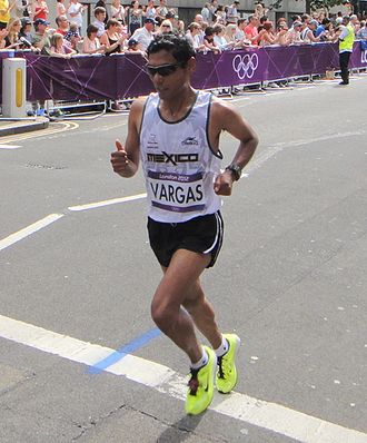 Mexico at the 2012 Summer Olympics - Daniel Vargas finished thirty-ninth in men's marathon.