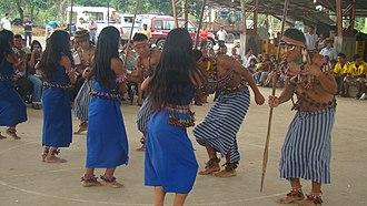 Logroño, Ecuador - Shuar Dance