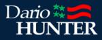 Dario Hunter 2020 presidential campaign logo