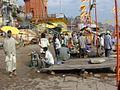 Dashashwamedh Ghat rituals, Varanasi.jpg
