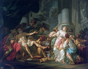 The Death of Seneca (David) - Image: David La morte di Seneca