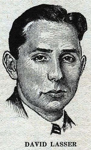 David Lasser - Lasser as depicted in Wonder Stories in 1931