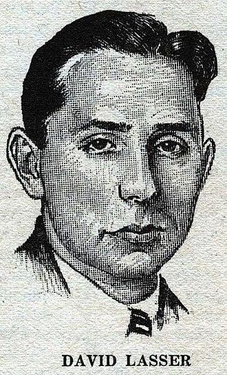 David Lasser - Lasser as depicted in Wonder Stories in 1931